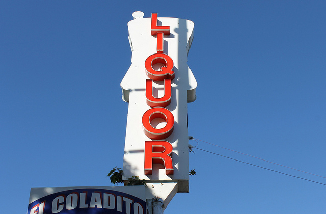 liquor store az - LIQUOR sign