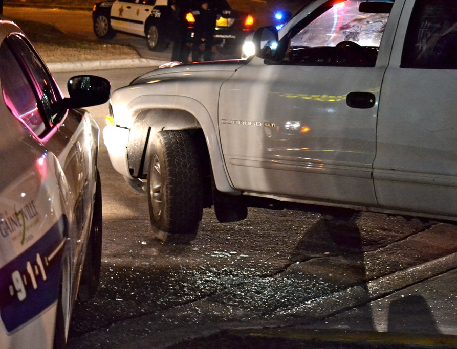 Driving w DUI blog - two cars parked next to each other