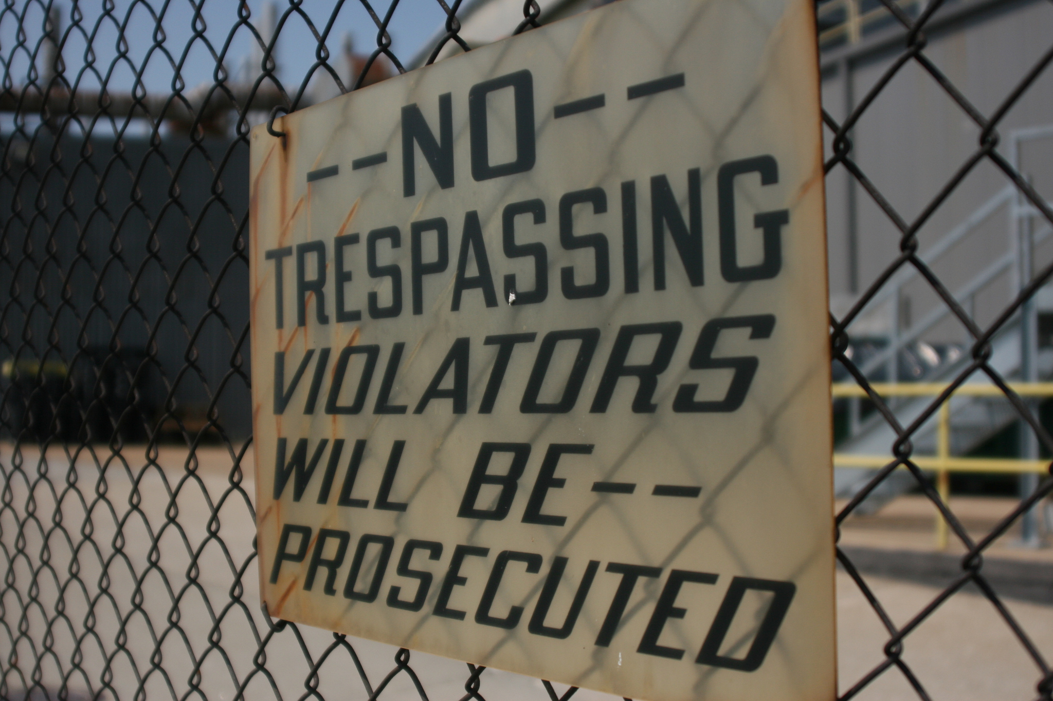 No trespassing Sign (NW)