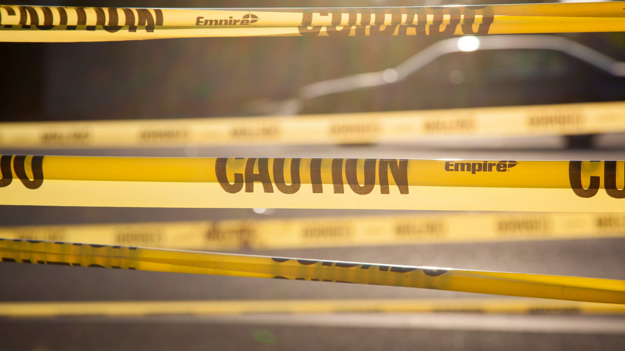 Certified Criminal Law Specialist - yellow police tape across crime scene