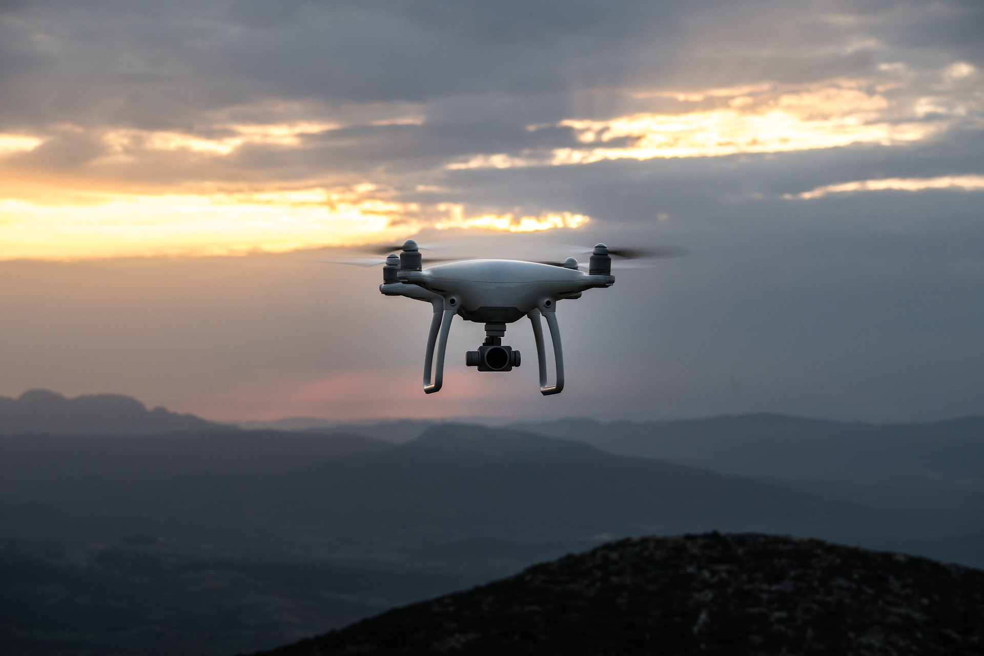 drone laws in Arizona - drone in flight against the sky