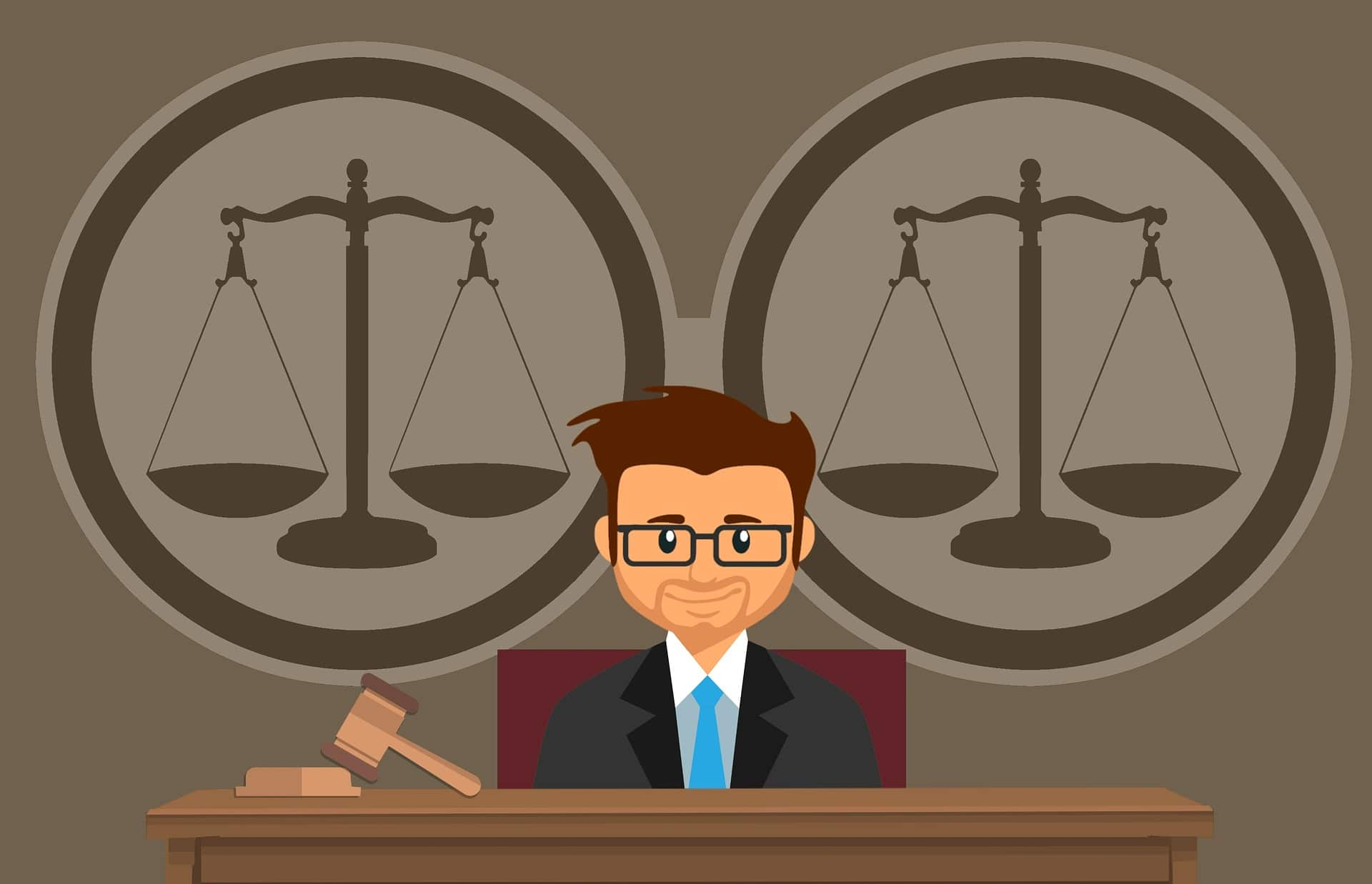 withdraw a guilty plea - cartoon of judge and gavel