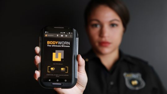officer with gadget, can police track your car without a warrant